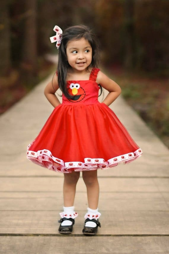 Elmo Party Dress - Elmo Birthday Party Ideas