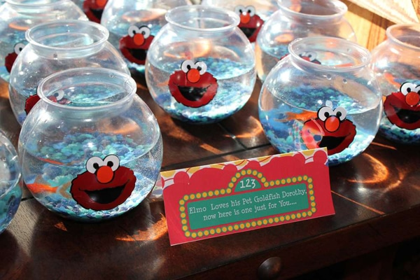 Elmo Party Favors - Elmo Birthday Party Ideas