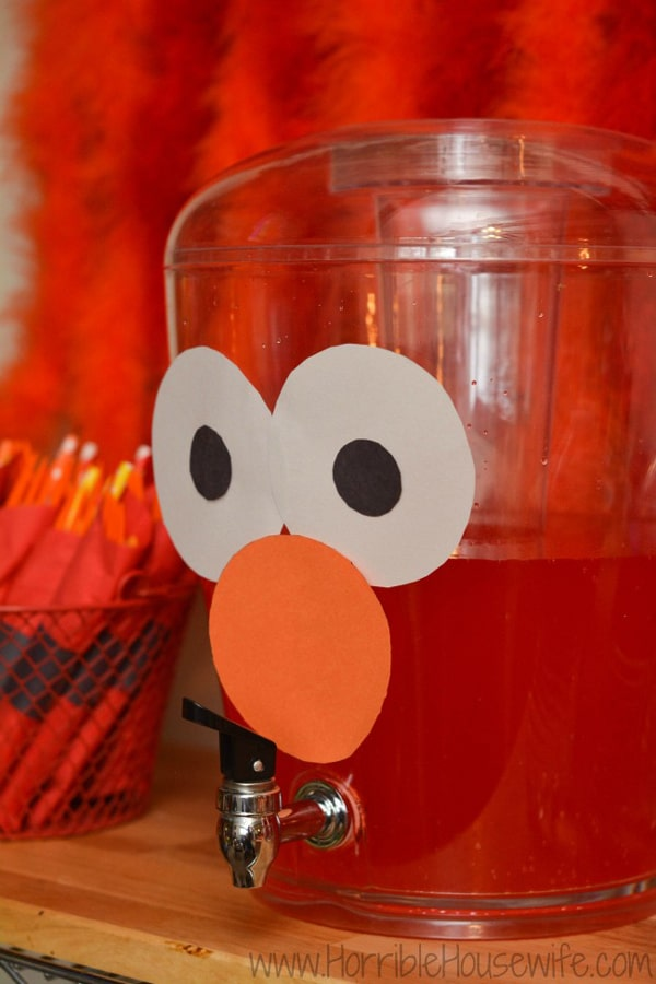 Elmo Punch - Elmo Party Ideas
