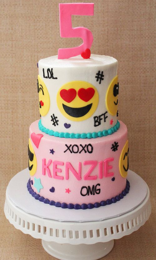 Emoji Cake Ideas On Pretty My Party