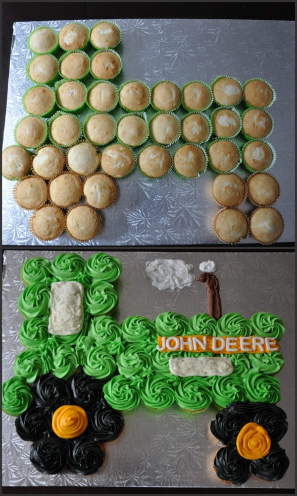 John Deere Cupcake Cake - Awesome Birthday Cakes For Boys on Pretty My Party