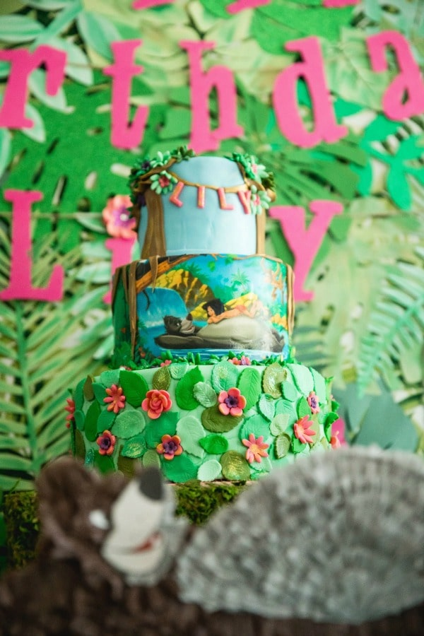 Jungle Book Cake - Awesome Birthday Cakes For Girls on Pretty My Party