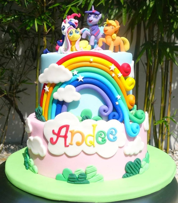 My Little Pony Cake - Awesome Birthday Cakes For Girls on Pretty My Party