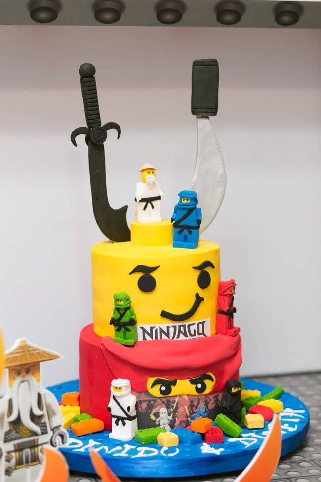 Ninjago Birthday Cake - Awesome Birthday Cakes For Boys on Pretty My Party