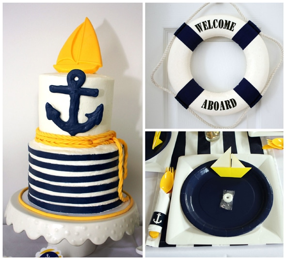 1st Birthday Ideas - Nautical Party