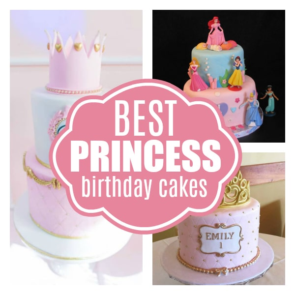 Swell 13 Amazing Princess Cake Ideas Pretty My Party Party Ideas Personalised Birthday Cards Veneteletsinfo