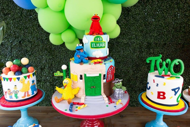 Sesame Street Birthday Cakes - Birthday Cakes For Boys
