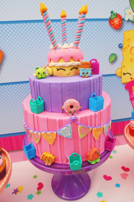 Shopkins Cake - Awesome Birthday Cakes For Girls on Pretty My Party