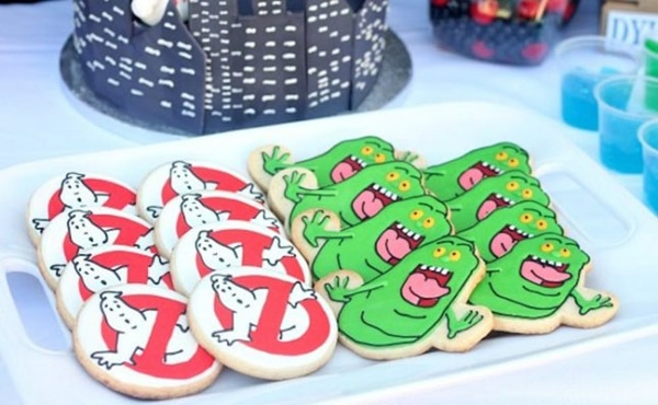 Ghostbusters Cookies - Ghostbusters Party Ideas