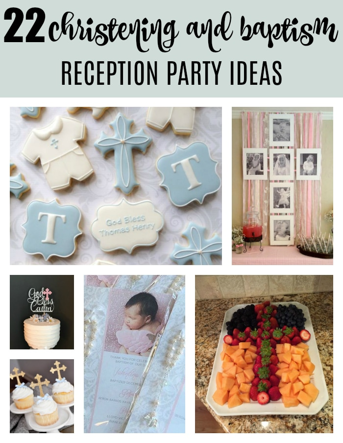 22 Baptism and Christening Party Ideas on Pretty My Party
