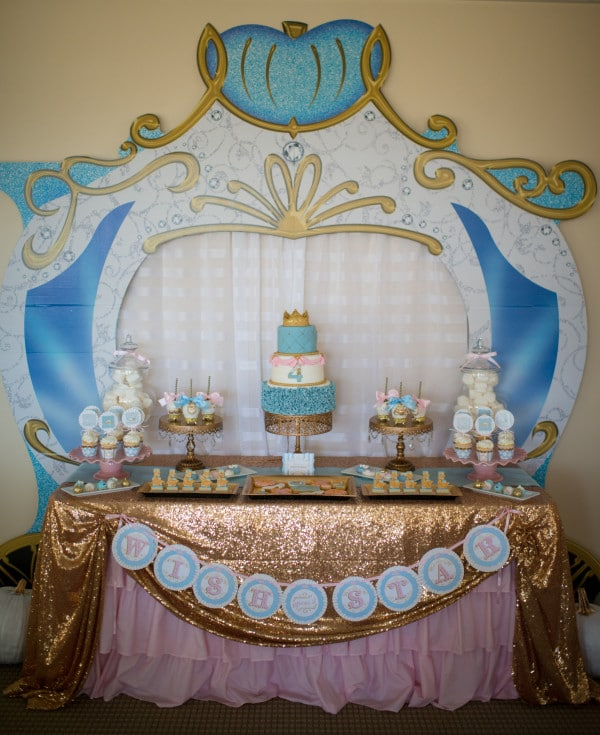 21 Magical Cinderella Birthday Party Ideas Pretty My Party Party