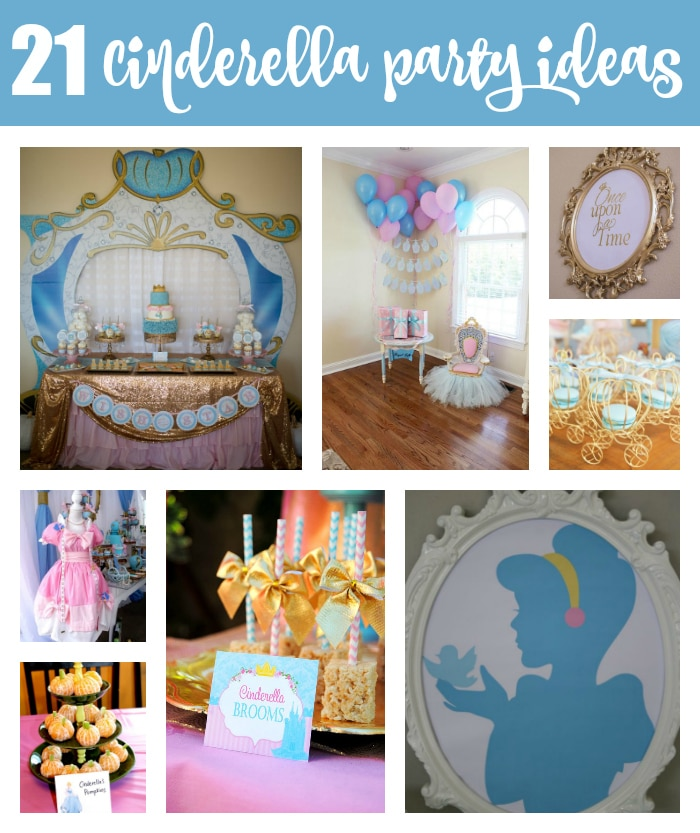 21 Magical Cinderella Birthday Party Ideas on Pretty My Party