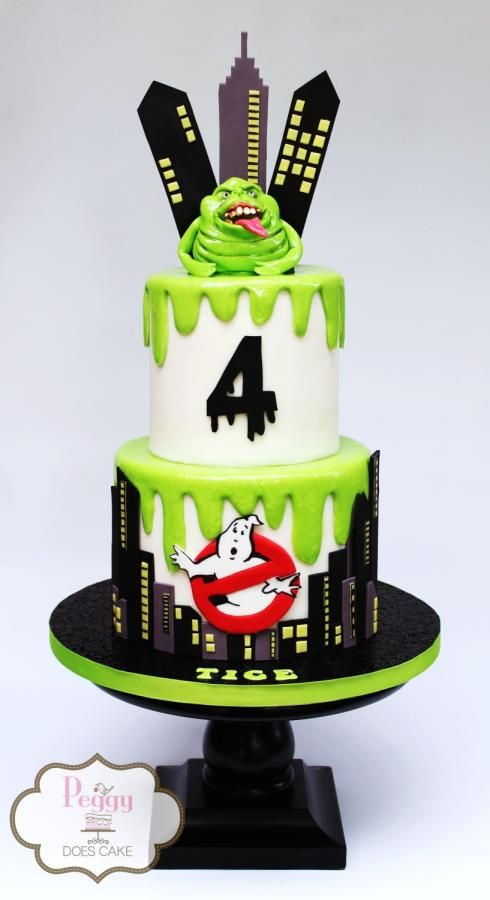 Ghostbusters Birthday Cake - Ghostbusters Party ideas