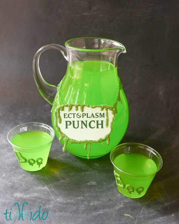 Ghostbusters Party Punch - Ghostbusters Birthday Party Ideas