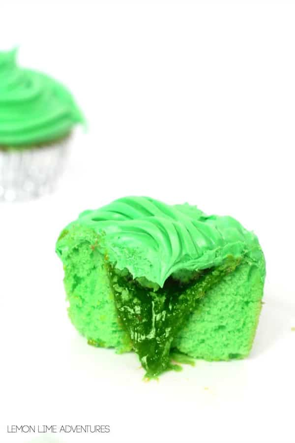 Green Slime Cupcakes - Ghostbusters Party Ideas