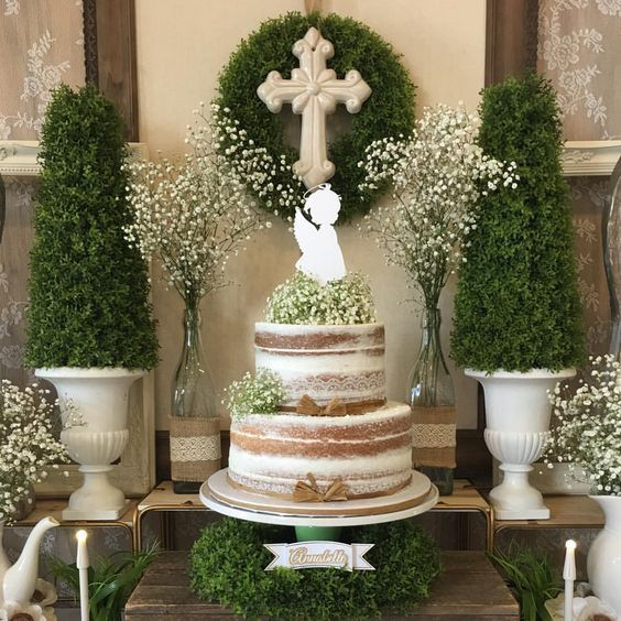 Marvelous 22 Christening And Baptism Party Ideas Pretty My Party Home Interior And Landscaping Oversignezvosmurscom