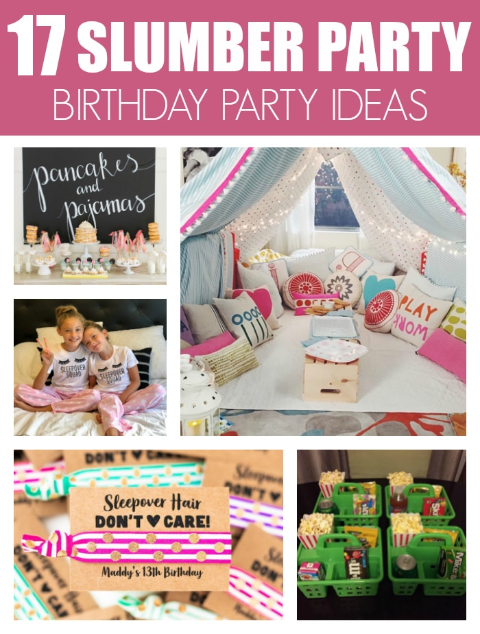 17 Fun Slumber Party Sleepover Ideas on Pretty My Party