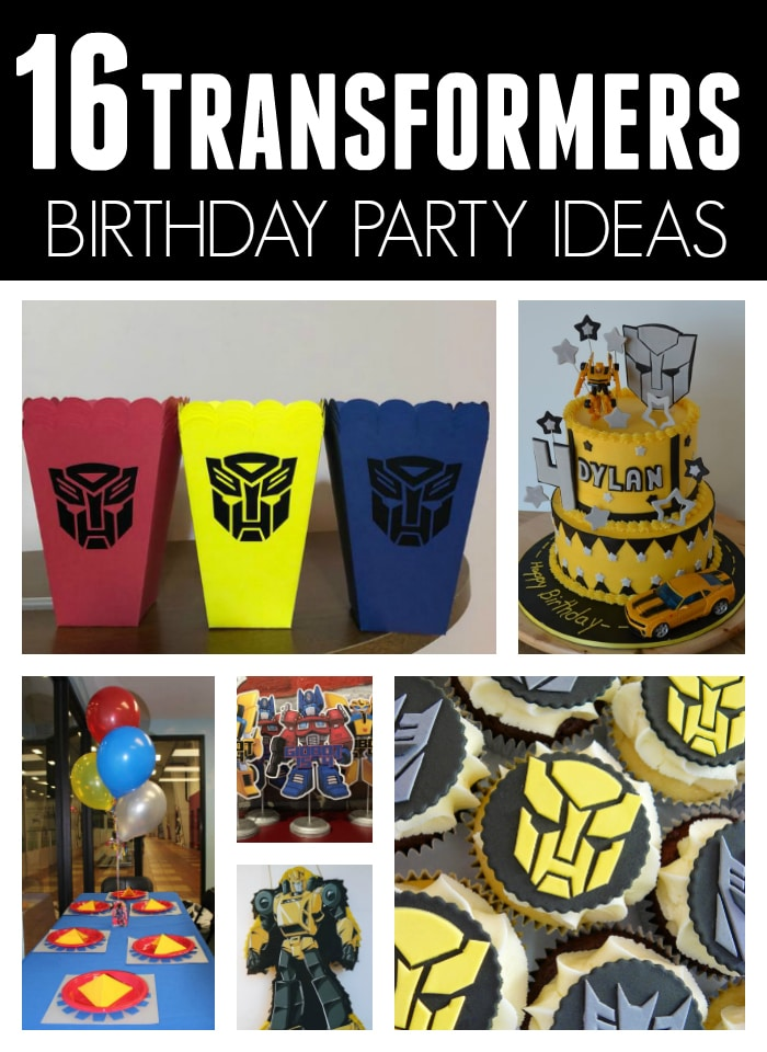16 Cool Transformers Birthday Party Ideas On Pretty My
