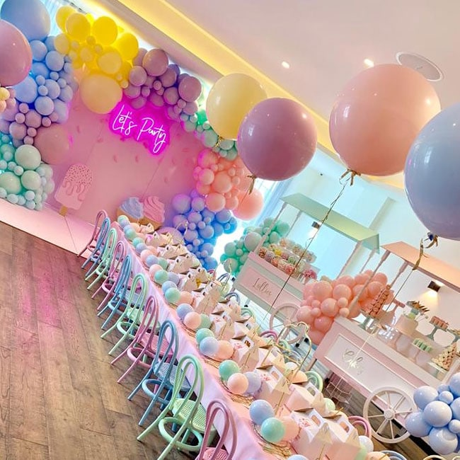 Pretty Pastel Ice Cream Birthday Party on Pretty My Party