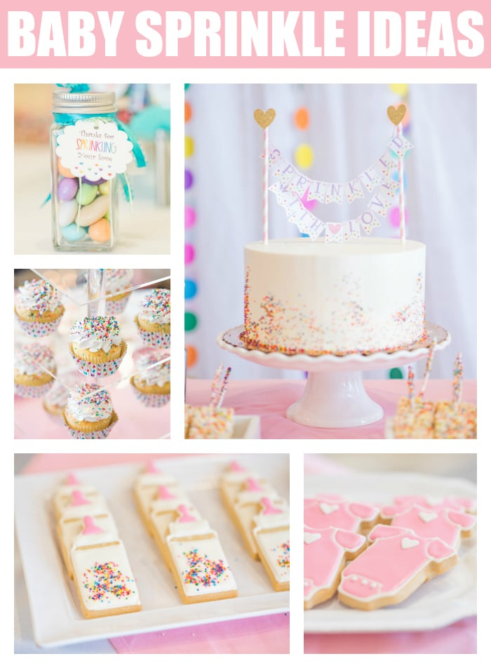 Baby Sprinkle Ideas on Pretty My Party