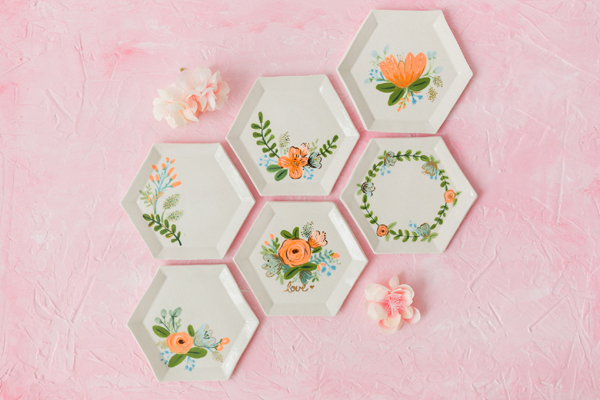 Flower Themed Bridal Shower Bridesmaids Gifts