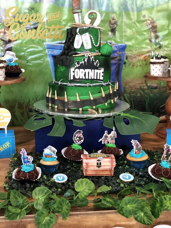 How To Plan The Ultimate Fortnite Birthday Party Slurp Juice T