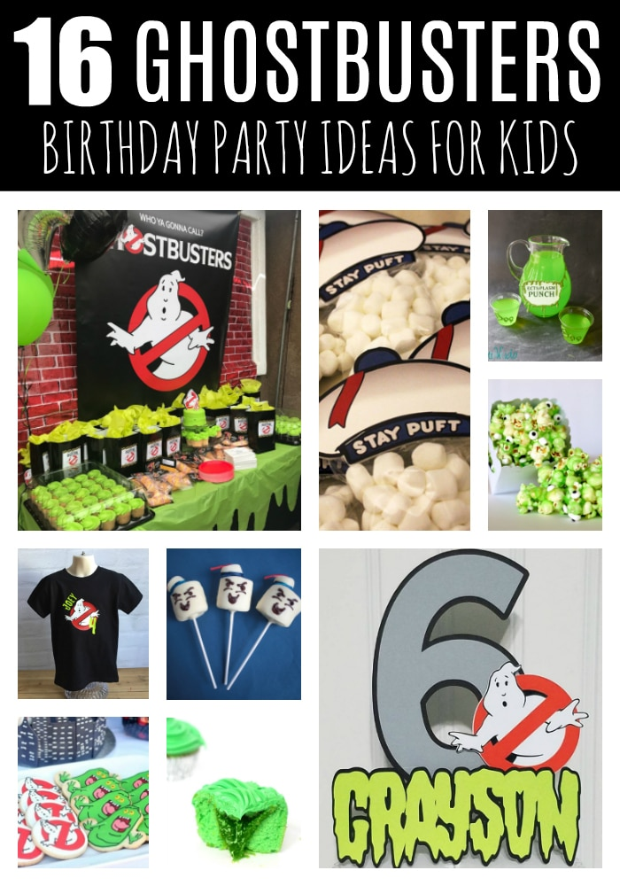 16 Fun Ghostbusters Birthday Party Ideas on Pretty My Party