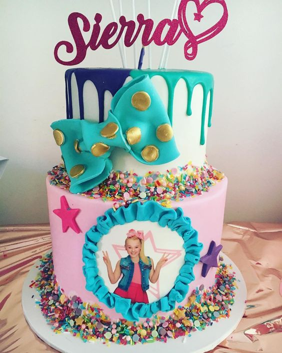 Jo Jo Siwa Birthday Cake - Jo Jo Siwa Party Ideas