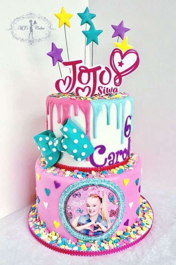 Jo Jo Siwa Cake - Jo Jo Siwa Party ideas