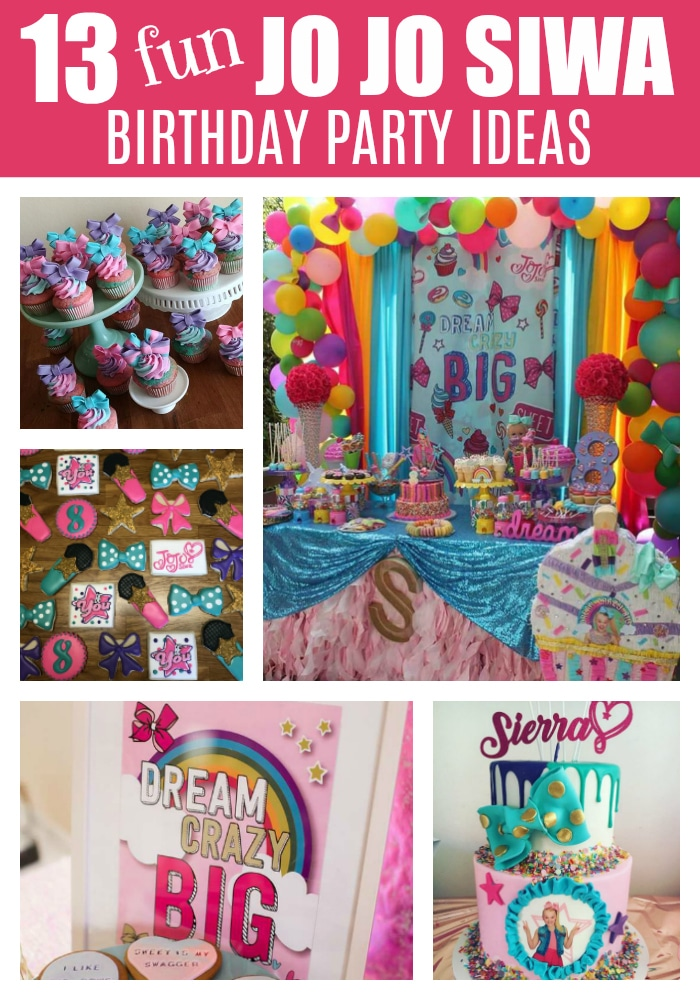 44002441c9a 13 Fun Jo Jo Siwa Party Ideas on Pretty My Party