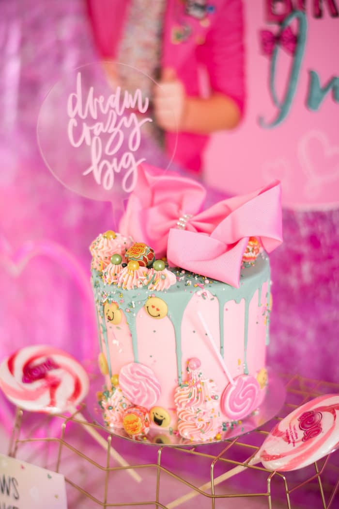 Colorful JoJo Siwa Sleepover Birthday Party - Pretty My ...