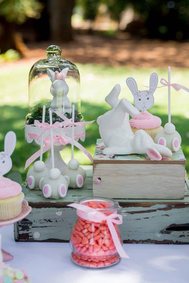 Some Bunny Is One Birthday Decor
