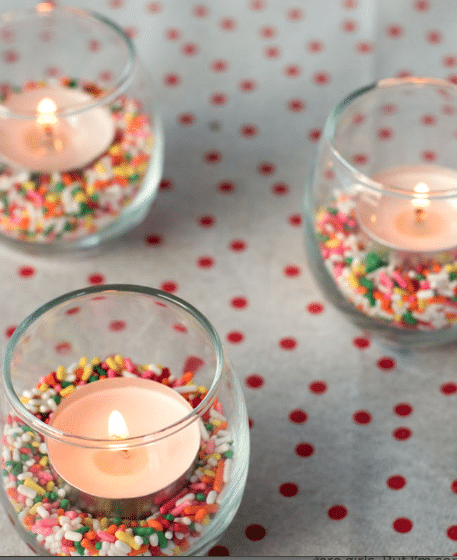 Sprinkle Votive - Best Baby Sprinkle Ideas