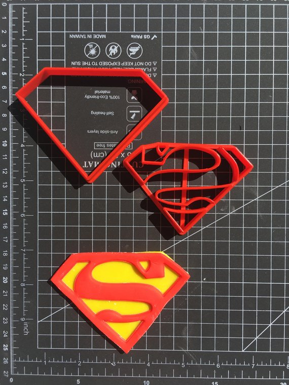 Superman Cookie Cutter - Superman Party Ideas