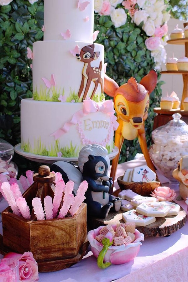 Bambi Party Desserts - Bambi Party Ideas