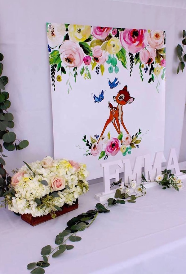 Bambi Party Sign - Bambi Party Ideas