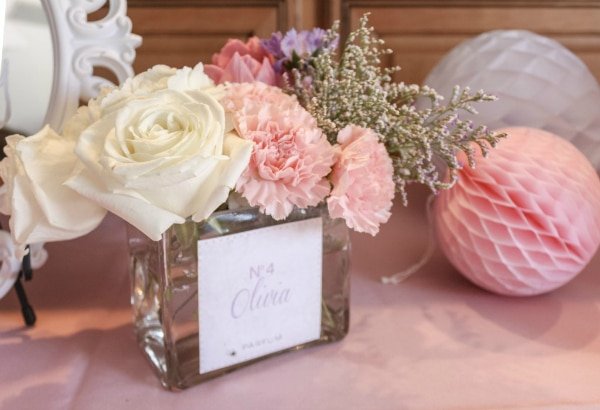 Beauty Party Flower Centerpieces
