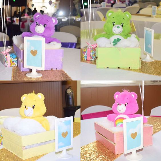 Care Bears Centerpieces - Care Bears Party Ideas