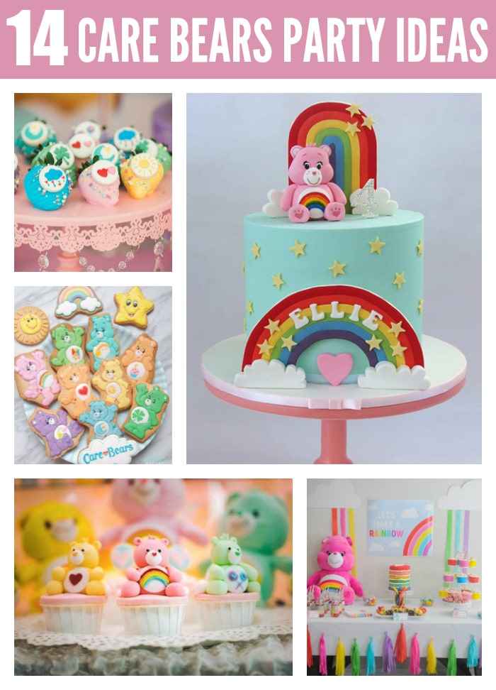14 Colorful Care Bears Party Ideas on Pretty My Party