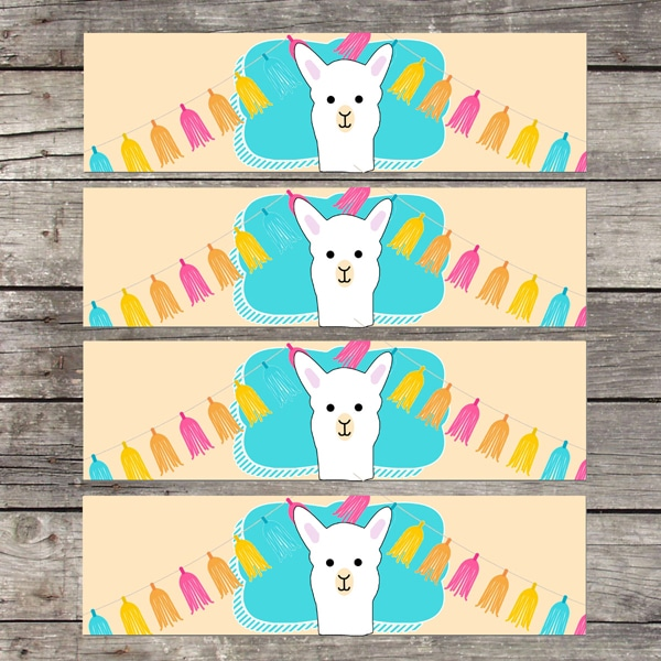 Free Llama Party Printables - Llama Party Ideas