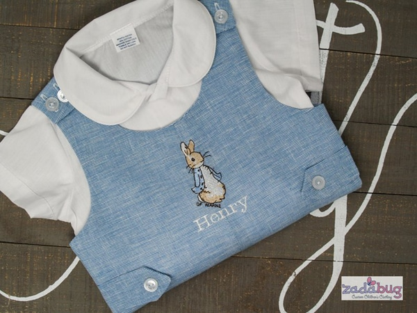 Peter Rabbit Birthday Outfit - Peter Rabbit Party Ideas