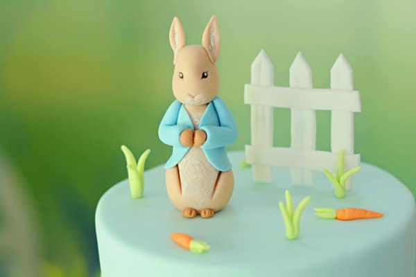 Peter Rabbit Cake Topper on Pretty My Party