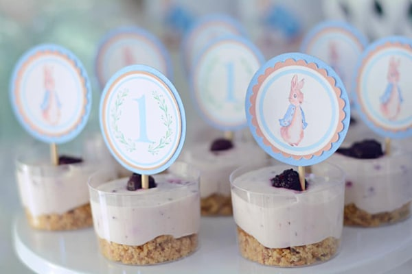 Peter Rabbit Party Food on Pretty My Party