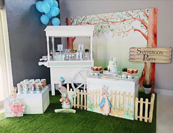 Peter Rabbit Birthday Party on Pretty My Party