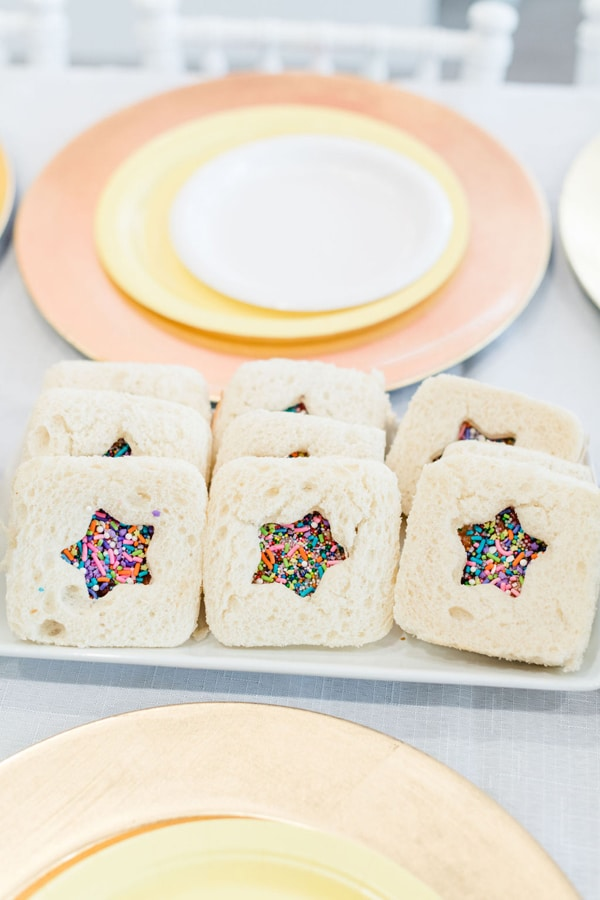 Rainbow Color Factory Party Ideas on Pretty My Party
