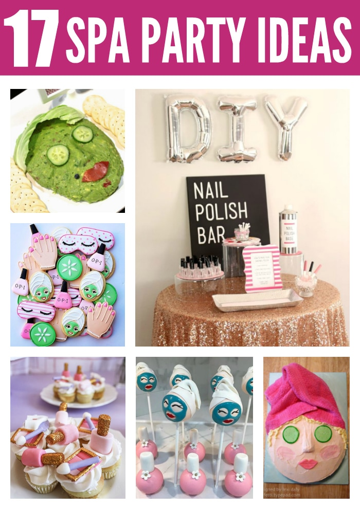 17 Fabulous Spa Party Ideas on Pretty My Party