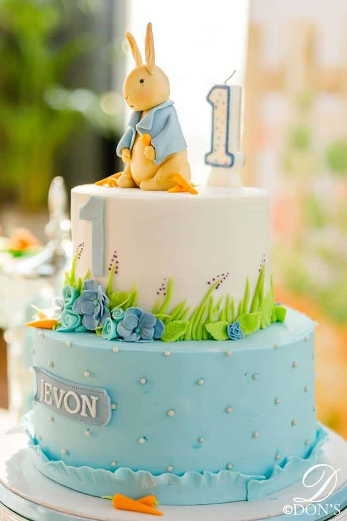 Vintage Inspired Peter Rabbit Birthday Party Pretty My