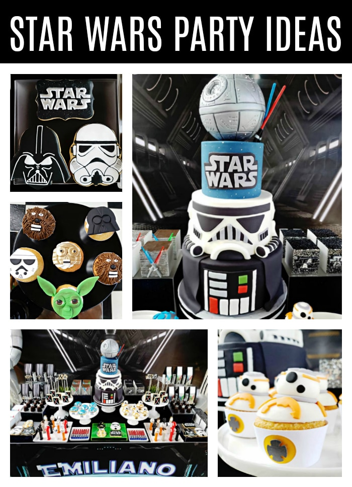 Incredible Star Wars Birthday Party on Pretty My Party
