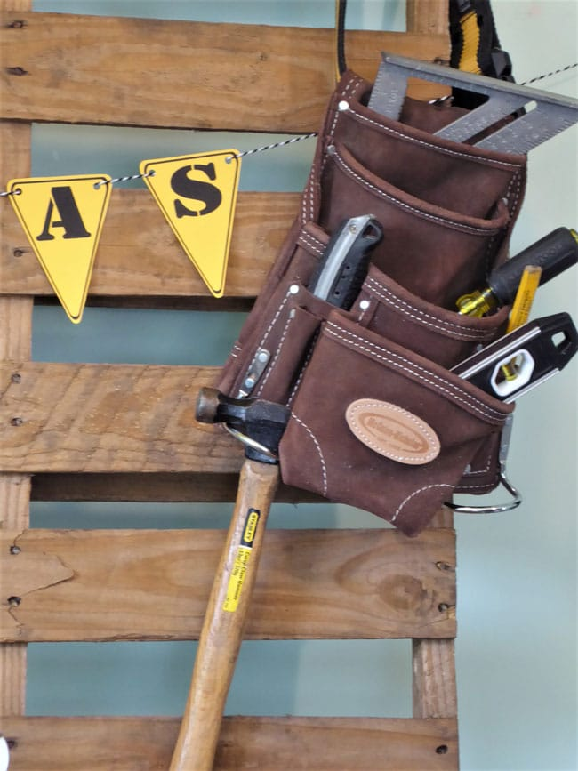 Construction Birthday Party Tools