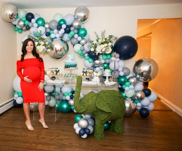Elephant Themed Baby Shower Pretty My Party Party Ideas